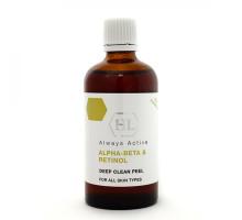HOLY LAND ALPHA BETA & RETINOL DEEP CLEAN PEEL - Комбинированный химический пилинг на основе фруктовых экстрактов и витаминов 100 мл
