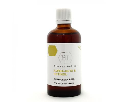 HOLY LAND ALPHA BETA & RETINOL Комбинированный химический пилинг на основе фруктовых экстрактов и витаминов 100 мл