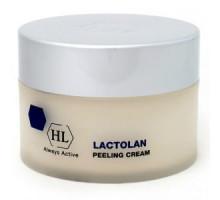 HOLY LAND LACTOLAN PEELING CREAM - Пилинг-крем для очищения, выравнивания и обновления кожи 250 мл