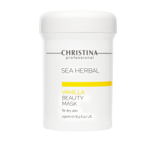 CHRISTINA SEA HERBAL BEAUTY MASK VANILLA FOR DRY SKIN - Маска красоты на основе морских трав для сухой кожи «Ваниль» 250 мл